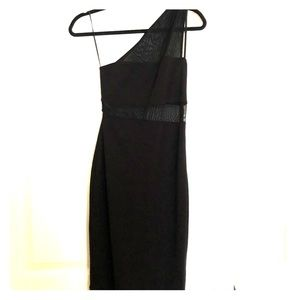 Express one shoulder dress